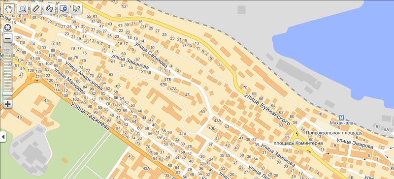 Карта Нижнекамска Спутник